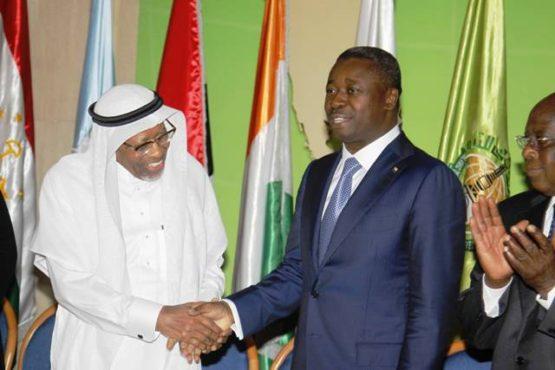 Faure BID bon 555x370 - En Arabie Saoudite: Faure Gnassingbé signe avec la BID trois conventions d'un montant de 194 millions de dollars