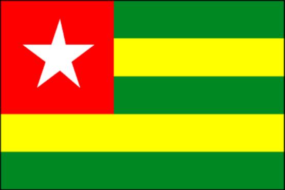 drapeau togo bon 555x370 - Convention de l'Unesco pour le Patrimoine culturel immatériel : le Togo élu au sein du Comité intergouvernemental
