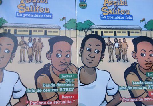 Bande dessinée bon 535x370 - « Assibi et Salifou » : la bande dessinée qui sensibilise les jeunes sur leur santé sexuelle