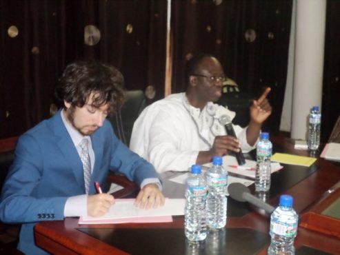 Ebeh Kodjo 493x370 - Moratoire sur l'exploitation et la commercialisation du faux teck : L'ANCE –Togo félicite le gouvernement et plaide pour la traçabilité du bois en provenance du Togo