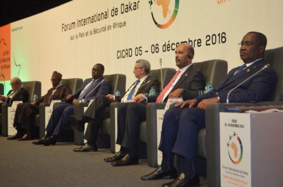 Forum paix à Dakar 559x370 - 3e Forum international de Dakar sur la paix et la sécurité en Afrique : Sélom Klassou a pris part aux travaux
