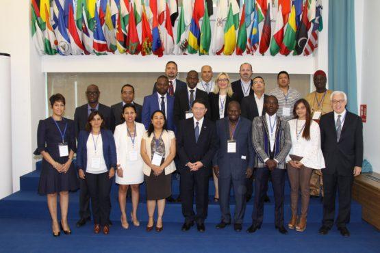 Photo officielle OMT Practicum 2017 555x370 - Tourisme : le Togo participe à un séminaire de l'OMT en Espagne