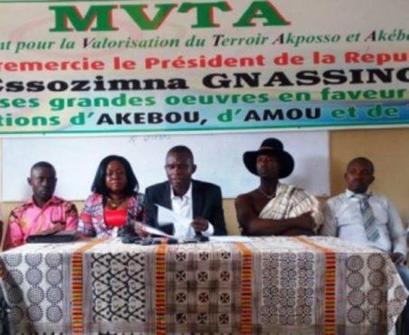 MVTA bon 452x370 - Le MVTA  se félicite des œuvres de Faure Gnassingbé dans le Wawa,  l'Amou et  l'Akébou