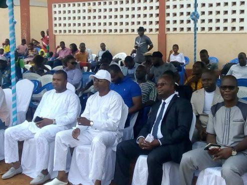 Meeting CJD terrain Adéwui 493x370 - Le CJD et le MJP appellent la classe politique à saisir l'opportunité de dialogue offerte par Faure Gnassingbé