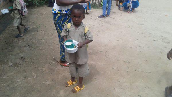 CAPD petits déjeuners 600x338 - Le CAPD inaugure un projet de petit déjeuner dans les écoles primaires