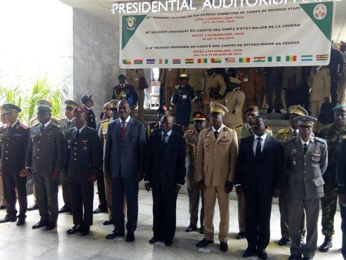 IMG 20180515 WA0074 493x370 - Paix et sécurité dans l'espace CEDEAO: Lomé accueille la 38è réunion ordinaire du comité des Chefs d'Etat-Major