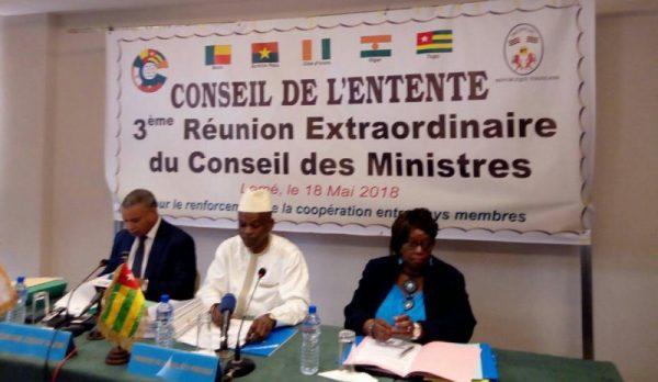 IMG 20180519 WA0000 600x348 - Gouvernance et dynamisation du Conseil de l'Entente : un nouveau plan stratégique quinquennal adopté à Lomé