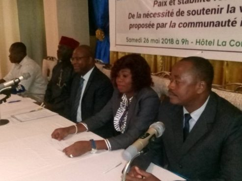IMG 20180526 WA0157 493x370 - Situation politique et économique au Togo: le CJD se réjouit de la stabilité retrouvée et demande l'accélération des processus électoraux