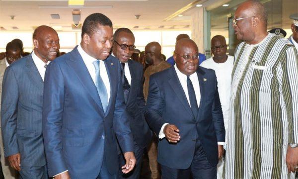 c8bc579716d220284dabf41e7ca6a091 L 600x360 - A Accra, les Chefs d'Etat du Ghana, du Togo, du Bénin, de la Côte d'Ivoire et du Burkina-Faso discutent terrorisme