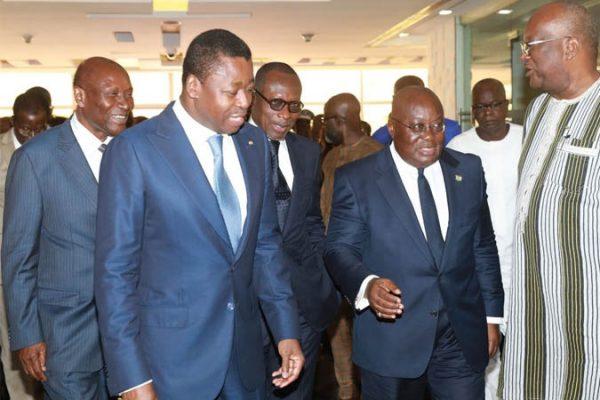 c8bc579716d220284dabf41e7ca6a091 L 600x400 - A Accra, les Chefs d'Etat du Ghana, du Togo, du Bénin, de la Côte d'Ivoire et du Burkina-Faso discutent terrorisme
