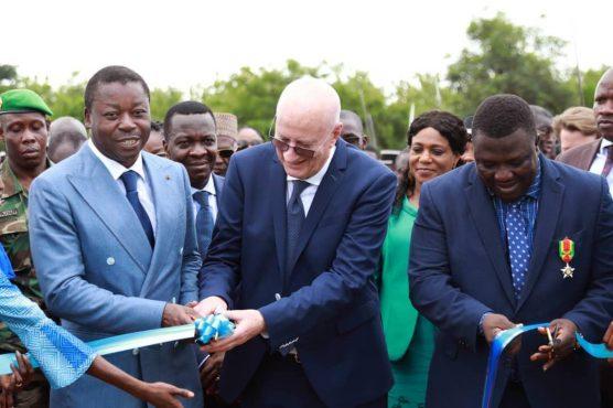 IMG 20190425 WA0119 556x370 - Faure Gnassingbé inauguré une usine de jus d'ananas à Gbatopé