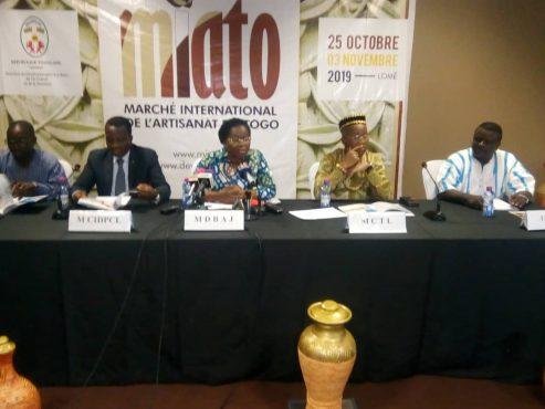 Lancement MIATO 493x370 - MIATO : un événement de portée internationale  dans le secteur artisanat togolais