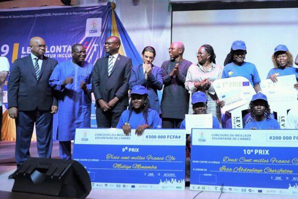 IMG 20191206 WA0017 600x400 - Togo: L'ANVT a célébré les 30.000 volontaires mobilisés depuis 2011, et primé les dix meilleurs de l'année 2019