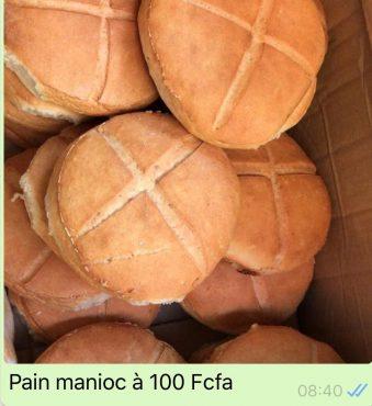 pain manioc 339x370 - Agroalimentaire: du pain à base du manioc sur le marché togolais