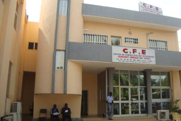 CFE 600x400 - Togo: frais de création d'entreprises réduits de 90% en moins de 10 ans!