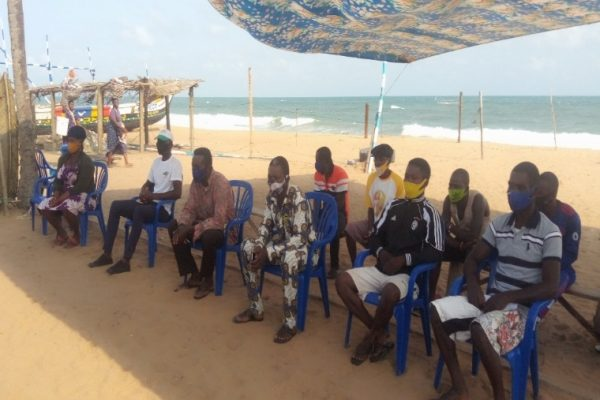 sensib pêche 1 600x400 - Togo: des acteurs de la pêche artisanale sensibilisés sur les mesures de sécurité en mer