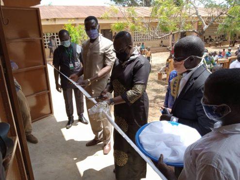 Batiment Lycee Wogba 494x370 - PSMICO: un nouveau bâtiment scolaire au Lycée de Wogba