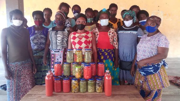 Formation Kpedome 600x337 - Togo/ Economie locale: des productrices de tomates de Haho3 outillés sur les techniques de transformation et de conservation