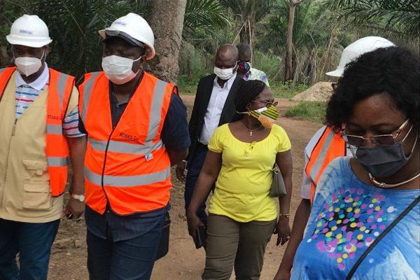 Lamadokou visite Kpalime 600x400 - Tourisme: A Kpalimé, le ministre LAMADOKOU Gbényo expose la vision de Faure Gnassingbé pour le secteur