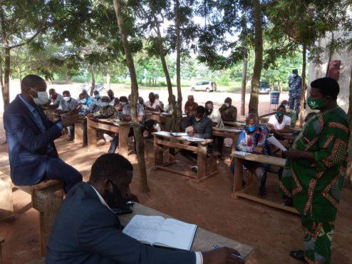 cadres UNIR Vo tournee etablissements scolaires 494x370 - Rentrée scolaire : les cadres UNIR-Vo veulent s'assurer du bon démarrage des cours