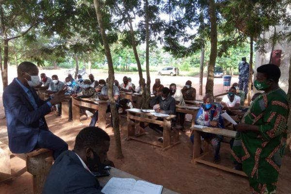 cadres UNIR Vo tournee etablissements scolaires 600x400 - Rentrée scolaire : les cadres UNIR-Vo veulent s'assurer du bon démarrage des cours