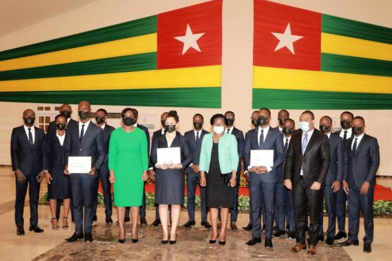 IMG 20210127 WA0053 556x370 - Togo: le Programme présidentiel d'excellence (PPE) pour le PND fait ses premiers diplômés