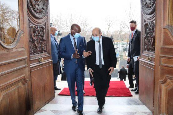 IMG 20210129 WA0030 555x370 - Togo/ Diplomatie : Dussey reçu au Quai d'Orsay