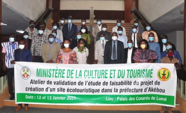 atelier site ecotouristique Akebou 600x364 - Togo/ Tourisme: vers la création d'un site écotouristique  dans l'Akébou