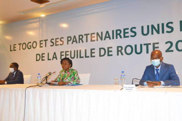 presentation feuille de route 2 600x400 - Togo: le gouvernement Tomégah-Dogbé présente aux partenaires sa feuille de route 2020-2025