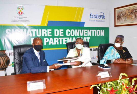 Ecobank min. dev.base  535x370 - Togo: pour monter leur entreprise, les jeunes peuvent désormais compter sur Ecobank