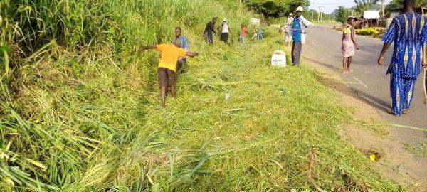 cantonnage archives bon 600x270 - Togo/ Cantonnage dans la région Centrale: 1 254 Km de voie entretenus en 2020