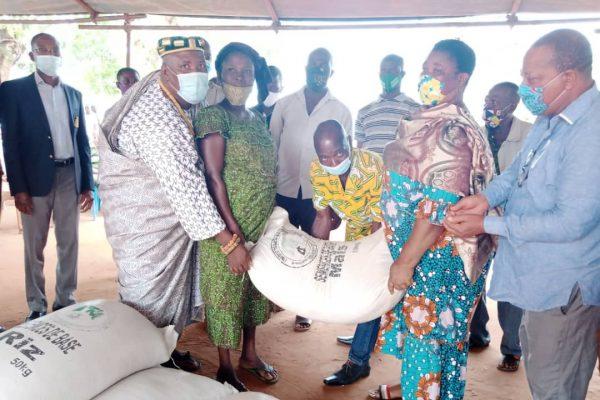 Distribution semences certifiees 600x400 - Togo/ Don de semences certifiées à 1000 agriculteurs de Vo