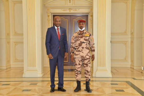 Visite Tchad 28 04 2021 600x400 - Diplomatie: le Togo disposé à accompagner le Tchad pour une transition pacifique et inclusive