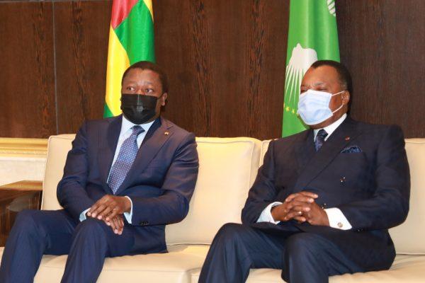 IMG 20210514 WA0081 600x400 - Diplomatie : Faure Gnassingbé et Denis Sassou NGuesso ont eu un tête-à-tête à Brazzaville