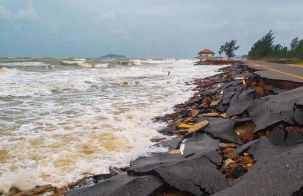 Erosion cotiere Togo - Togo: un nouveau financement de la Banque Mondiale pour appuyer la lutte contre l'érosion côtière