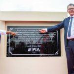 pose premiere pierre centre de formation PIA 150x150 - Centre de formation professionnelle de la PIA: pose de la première pierre