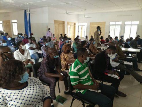 Formation pools de formateur 493x370 - Grand-Lomé/PSMICO: l'ANADEB table sur les pools de formateurs locaux pour la mise en œuvre efficace des plans d'action