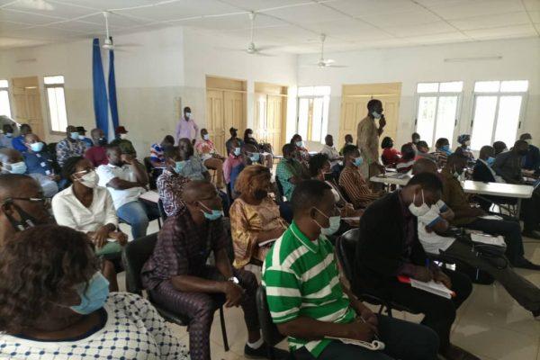 Formation pools de formateur 600x400 - Grand-Lomé/PSMICO: l'ANADEB table sur les pools de formateurs locaux pour la mise en œuvre efficace des plans d'action