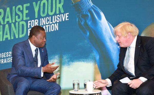 Rencontre entre le Chef de lEtat et le Premier ministre britannique a Londres 600x370 - Londres: tête-à-tête Faure Gnassingbé- Boris Johnson