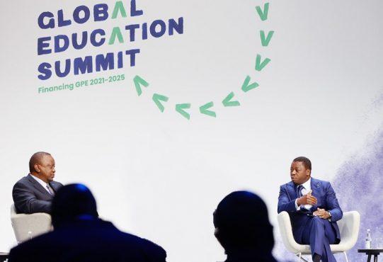 Sommet mondial sur lEducation 2021 le Chef de lEtat appelle a plus dinvestissements dans leducation prescolaire 541x370 - Sommet de Londres: retour sur l'intervention de Faure Gnassingbé