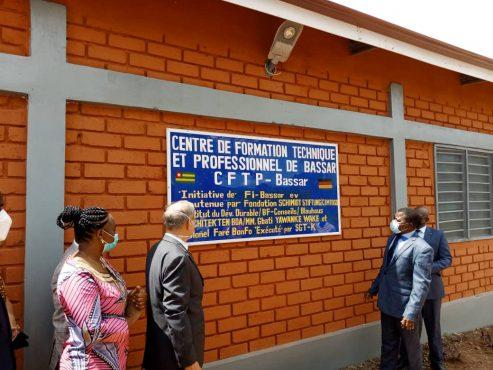 CFPT Bassar 493x370 - Togo : un bâtiment au CFTP de Bassar