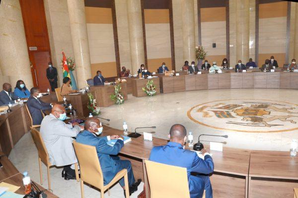 Conseil ministres 15 sept. 2021 600x400 - Communiqué du Conseil des Ministres du mercredi 15 septembre 2021