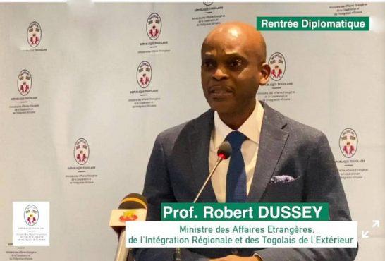 Robert Dussey 546x370 - Togo